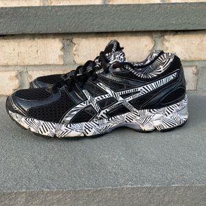 ASICS Gel Enhance Ultra Zebra Print Running Shoe